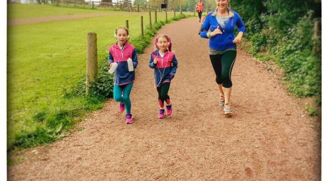 Park run with kids-warts and all!